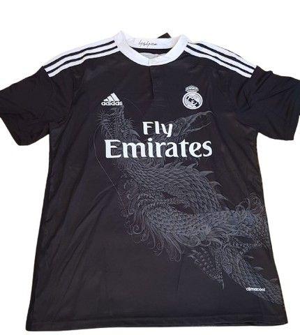 Camisa Real Madrid 2014   Modelo: N° 2