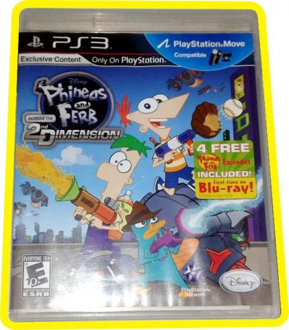 Phineas and Ferb Ps3