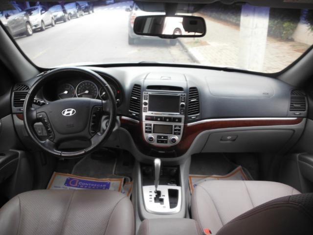 Hyundai Santa Fe 2009 blindada+nova e sp - Foto 6