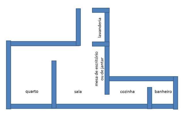 Kit cozinha separada Metro Sta Cecilia