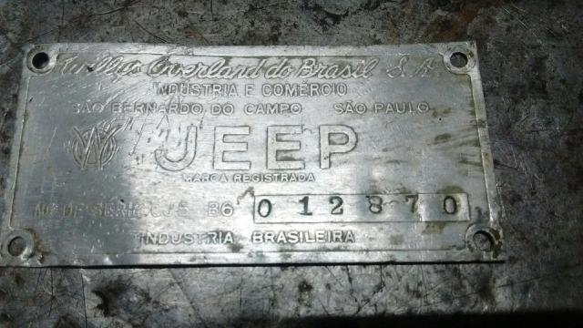 Emblema jeep willis