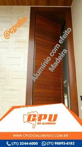 Box, Espelhos, Grades, Portões e Esquadrias de Alumínio e Vidro Temperado - Foto 4