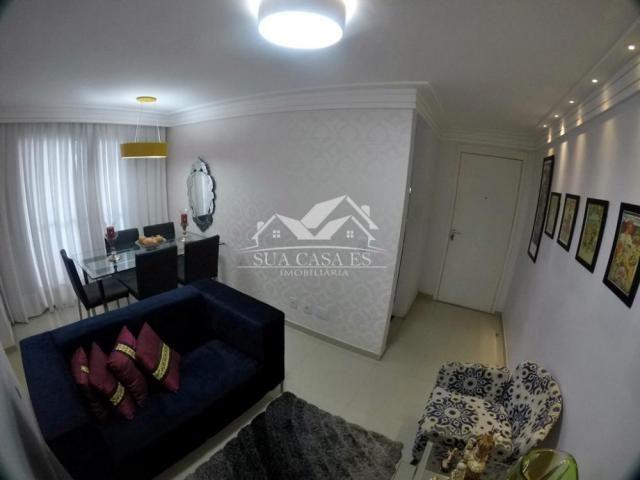 Apartamento à venda com 3 dormitórios em Colina de laranjeiras, Serra cod:AP184LE - Foto 3