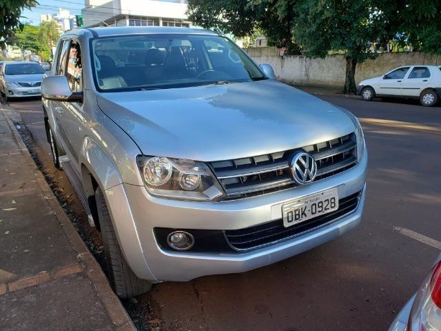 Vw - Volkswagen Amarok Highline Aut. 4x4 Diesel - Foto 2