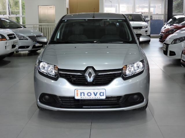 Renault Logan Expression 1.6 completo prata - apenas 43.500 km