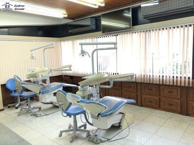 Três salas montada uma clínica odontológica no Renascença II