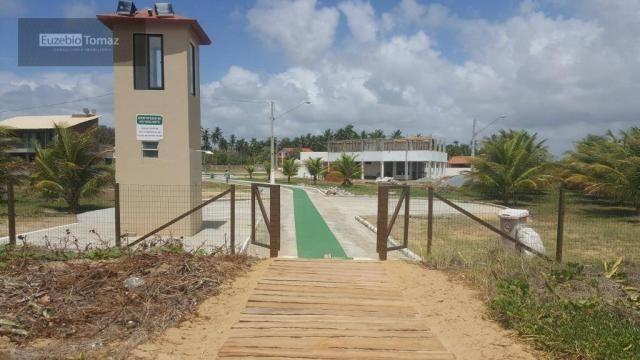 Terreno em condomínio fechado à beira mar no sonho verde - Foto 9