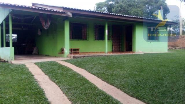 Excelente chácara com 26078 m² por r$ 385.000 - areia branca - mandirituba/pr