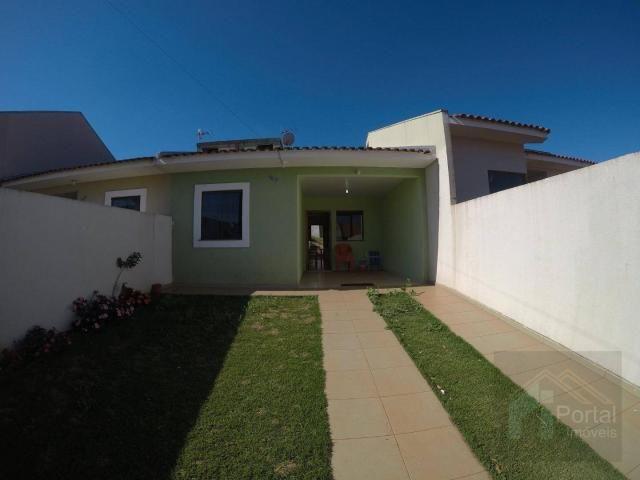 Casa com 2 dormitórios à venda, 60 m² por r$ 250.000 - novo milênio - cascavel/pr - Foto 5
