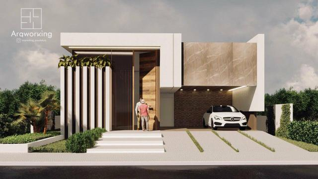 Excelente casa no Nações Privê: Construção - Foto 4