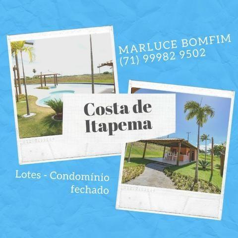 Casa de praia - Lotes em Santo Amaro Saubara. Entrada facilitada!
