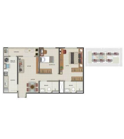 Apartamento 2 quartos Samambaia sul Via Solare alto padrão - Foto 15