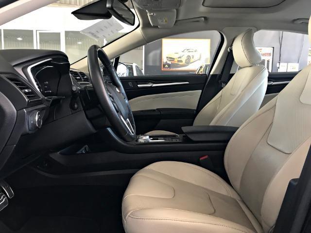 Ford Fusion Titanium Awd C/ Teto Solar 2.0. Preto 2016/2017 - Foto 11