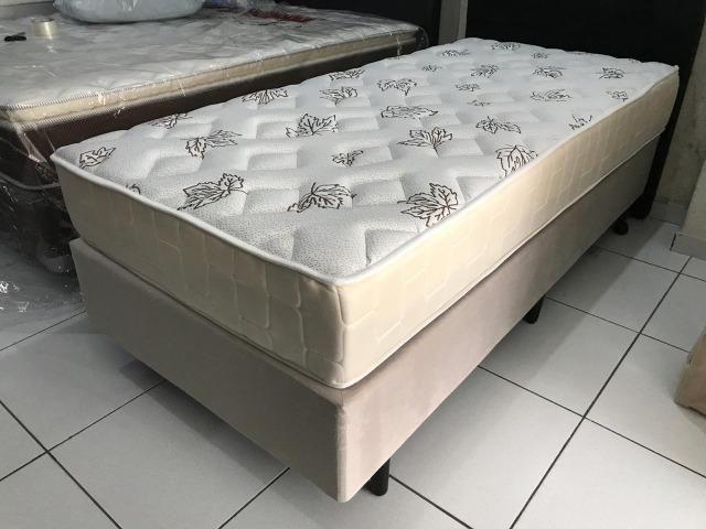 Cama Box Solteiro Umaflex em Molas - Peça Nova! - Foto 6