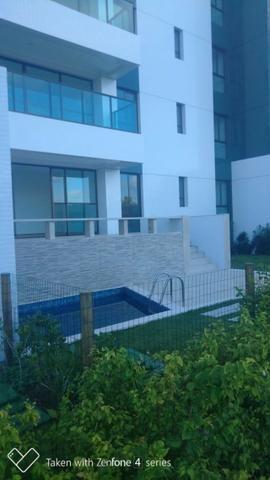Apartamento térreo jardim C/ piscina privativa 4 suítes cond paradiso reserva do paiva - Foto 17