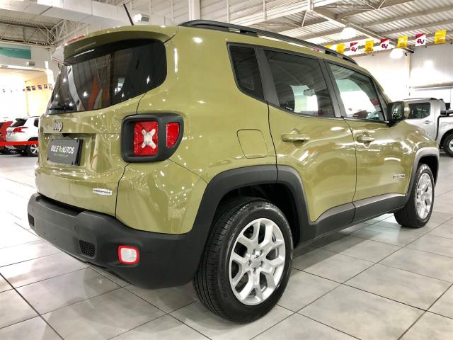 RENEGADE 2016/2016 1.8 16V FLEX LONGITUDE 4P AUTOMÁTICO - Foto 6