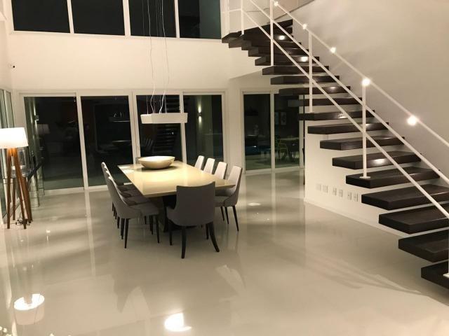 Luxuosa casa duplex com decoração e mobília completa conheça o projeto na integra paiva - Foto 10