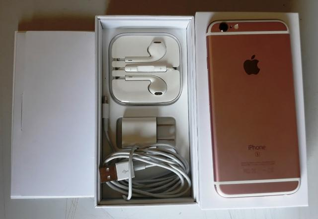 Iphone 6s 16gb rose muito novo