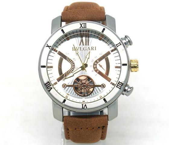 3edd206f7b6 Relógio Bvlgari Couro sintético - Bijouterias