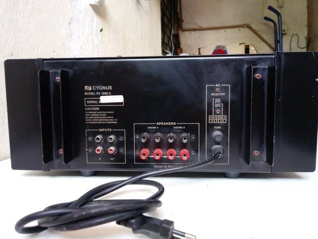 Amplificador pa 1800x cygnus