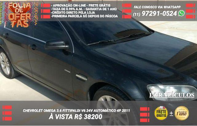 fd255bbba2e Oportunidade- Gm - Chevrolet Omega 2011