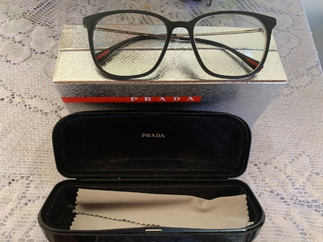 Armação Óculos Prada Modelo Dg01o1 Original - Foto 6