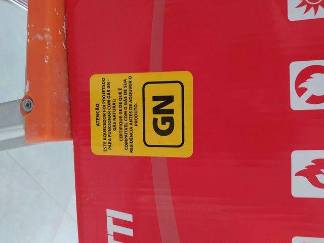 Aquecedor a gás LZ2000 novo na caixa com NF - Foto 4