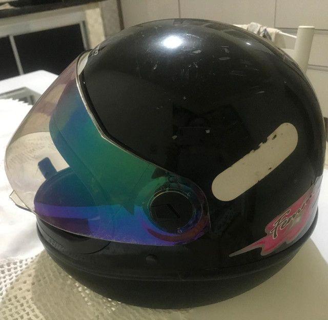 Vendo capacete usado - Foto 6