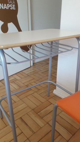 Conjunto carteira escolar cadeira e mesa - Foto 3