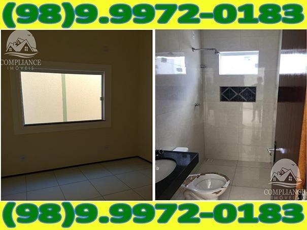 4I1Excelente Casa Nova Com Dois Quartos No Altos Do Turu - Foto 7