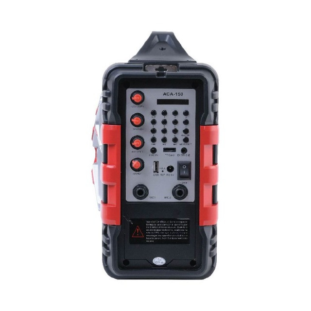 Som 100W Rms Bateria 4 Horas Rádio Bluetooth + Microfone P10 - Foto 4