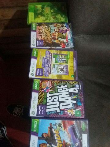 Xbox 360 + Kinect + 2 controles  - Foto 3