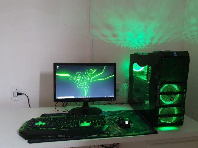 PC Gamer Completo, Monitor, i7 3.90ghz, RX570 4GB, 16gb Ram, SSD, Wi-Fi - Foto 2