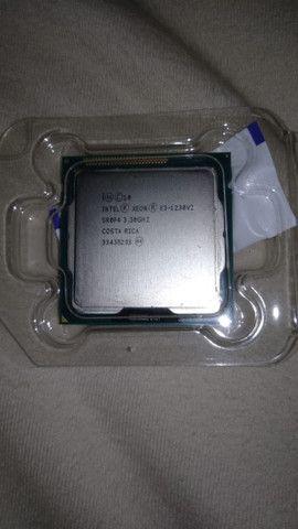Cpu Processador Intel Xeon E3 1230v2 Equivale A ( I7 3770 ) - Foto 2
