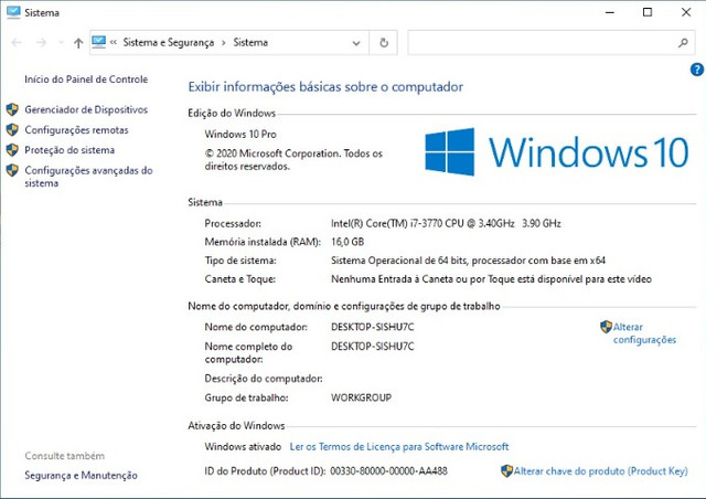 PC Gamer Completo, Monitor, i7 3.90ghz, RX570 4GB, 16gb Ram, SSD, Wi-Fi - Foto 3