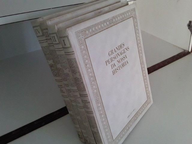 Coleção Grandes Personagens da Nossa História 5 volumes - Foto 4