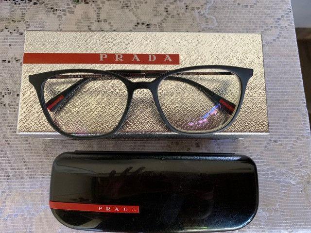 Armação Óculos Prada Modelo Dg01o1 Original