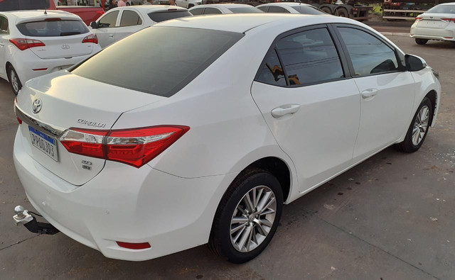 COROLLA XEI 2.0 FLEX 16V AT. BRANCO 2016-2017  - Foto 6