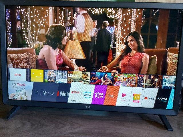 Smart tv 32 polegadas, lg, poucos meses de uso
