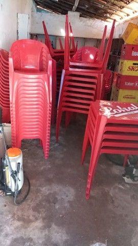 Jogo de mesas e cadeiras  - Foto 4