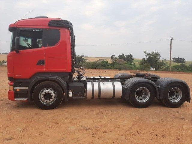 Scania R-440 6x4 2014 Único dono - Foto 3