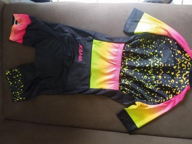 Macaquinho para ciclismo Xama/kafit, tamanho L(g), Novo - Foto 2