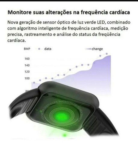 Smartwatch Y68 D20 Relogio inteligente conexão Bluetooth  - Foto 6