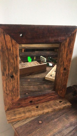 Molduras para espelho e quadros em madeira cruzetas