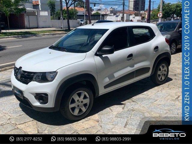 Renault Kwid Zen 1.0 Flex 2019 Completo - Foto 3