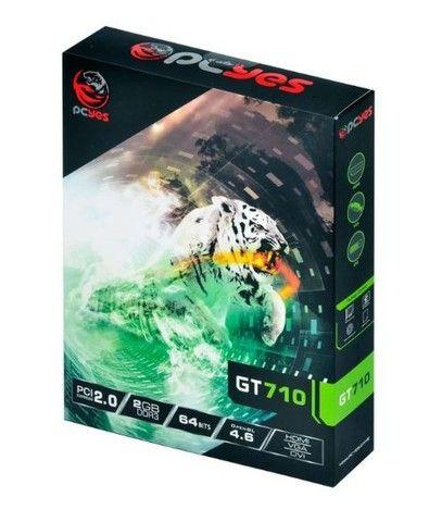Placa de video nvidia gforce gt 710 2gb ddr3 64bits - Foto 5