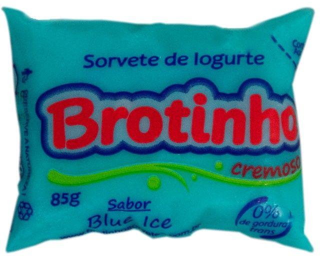 Brotinho - Sorvete de Iogurte Cremoso, 85g com 50unds - Foto 5