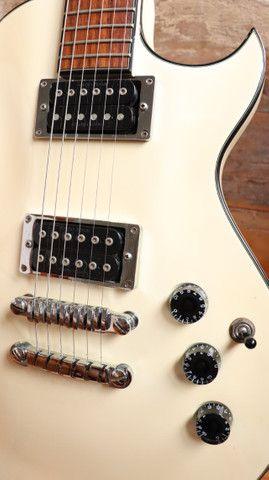Kit Guitarra Ibanez ART120 Les Paul + Bag Premium + Cabo + Correia Planet Waves - Foto 3