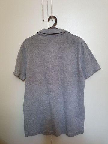 Camisa polo cinza - Foto 4