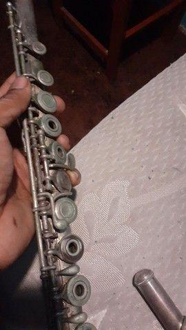 Flauta yamaha 271 - made in japan - Foto 3